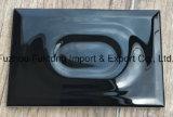 Zwarte Kleur van de Speciale Ceramische Tegels van de Muur van de Vorm van 120mmx180mm in het Hete Verkopen