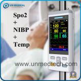 Handbediende Impuls Oximeter (met temperaturen)