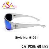 De Sport Gepolariseerde Zonnebril van uitstekende kwaliteit met de Certificatie van Ce (91001)