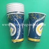 Подгонянный высоким качеством устранимый бумажный стаканчик изоляции