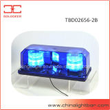 Minibar bleu de couleur de Lightbar de balise duelle de signal d'échantillonnage (TBD02656-2B)