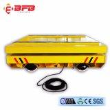 Manutention de matériel lourd train électrique Voiture en usine sidérurgique de transfert