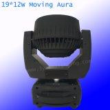 Wäsche DJ der LED-Stadiums-Beleuchtung-Aura-19PCS*12W des Summen-LED beleuchten