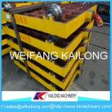Gussteil-Kolben-Ladeplatten-Auto-grauer Rostfleck-Sand-Kasten