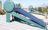 太陽給湯装置を予備加熱する高圧銅管