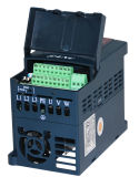0.4kw 단일 위상은 3 단계 산출 AC 220V 변하기 쉬운 속도 드라이브를 입력했다