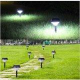 LED de energía solar de la luz de césped Jardín decorativo Stick luz de alimentación