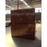 Nouveau style de chambre Prix bon marché de bois Armoire penderie Dressing placard
