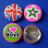 Promotion Printing Tin Badge (HY-MKT-0020)のための漫画Button