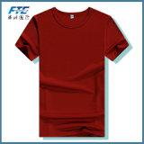 T-shirt d'OEM de prix bon marché unisexe de collet rond