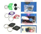 Индикатор цепочки ключей цепочки ключей пластиковые кольца для ключей цепочки ключей с подсветкой для поощрения подарки