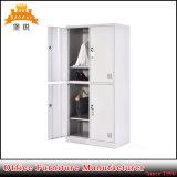 [جس-027] معدن أثاث لازم 4 صفّ مدرسة [جم] خزانة 4 أبواب تخزين لباس فولاذ خزانة