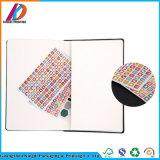 Caderno Pocket do couro do Hardcover de China com faixa elástica