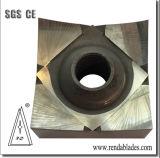 HSS 상감세공 D2 1.2379 PVC Zerma 단 하나 샤프트 슈레더 잎 칼을 재생하는 플라스틱 조각 기계