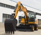 Ht135W nueva excavadora de ruedas hidráulicas