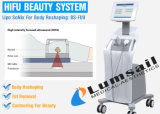 3D de la piel de elevación de la cara Hifu Hifu Liposonix apriete de la máquina la máquina