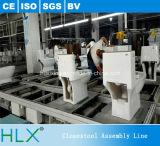 Planta de fabricación del transportador de cadena de la velocidad doble de Closestool