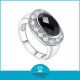 Elegante anillo de plata con piedra grande para la Mujer (SH-R0526)