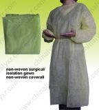 La conception populaire robe chirurgicale nontissés (LY-NSE-Y)