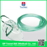 조정가능한 코 클립 및 관을%s 가진 의학 고압산소요법 산소 마스크