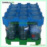 Plastik-HDPE stapelbare 240 Kilogramm-Trinkwasser-Flaschen-Ladeplatten