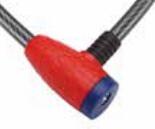 (WB013) Bloqueo de acero de la bici del bloqueo del cable