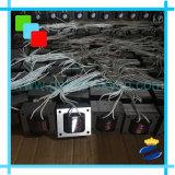 Mastic de colmatage manuel de main d'impulsion de corps de fer de machine de mastic de colmatage pour Papier d'emballage, film de pp,