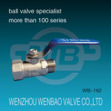 ANSI 1-PC Female Threaded RVS 304 Manual Ball Valve