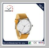 Reloj de acero inoxidable de estilo clásico.