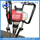 Perforatrice della guida d'acciaio del motore a benzina da vendere