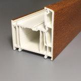 Windows와 Door Ventans De PVC Profile 밀어남을%s UPVC 단면도