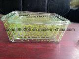 En verre Pyrex conteneur de stockage alimentaire Jar claire