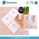Personalizada impresa Alaid blanca llanura servilleta de papel