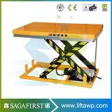 plate-forme statique de levage de ciseaux de la qualité 2ton pour la cargaison de levage