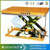 платформа 1ton 3000kg сверхмощная неподвижная электрическая Scissor подъем