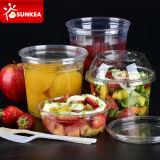Contenitore di alimento di plastica trasparente libero