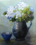 Blume Vasen-in den chinesischen handgemachten Ölgemälde-Ausgangsmöbel-Produkten