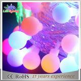 マルチカラー球の装飾的な10m100LクリスマスLEDストリングライト