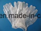 Не стерильный одноразовый порошок свободного виниловые перчатки без использования латекса для продовольственной службы