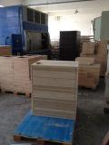 Armários superiores de madeira sólida de carvalho vermelho para uso em cozinha