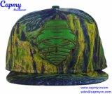 El algodón de color púrpura tapa Snapback Hat fabricante