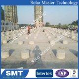 광전지 태양 장착 브래킷 태양 벽돌쌓기