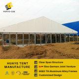 Huaye Glaswand-Ausstellung-Zelt mit Aluminiumrahmen 6082t6 (hy042b)