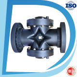 PA6 Nylon Hydraulic Pneumatic Valve Material 2 Way Diaphragm Valves per Industrial Use