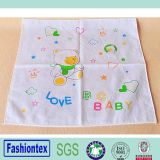 Het zachte Vierkant van de Mousseline veegt de Absorberende Handdoek van het Zweet van de Slabben van de Mousseline van de Baby af