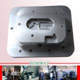 Peças de alumínio do CNC com carimbo fazendo à máquina do CNC e estaca do laser