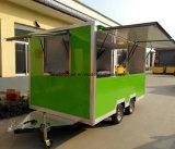 تصميم حديثة [تووبل] متحرّك بيتزا طعام عربة لأنّ عمليّة بيع