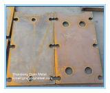 Жесткий500 стальную пластину/броня стальную пластину пуленепробиваемых износной пластины