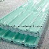 Meilleur Prix tuile de toit transparent personnalisé / Feuille de toiture en fibre de verre / panneau de toiture en PRF