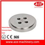 L'usinage CNC de la partie de la rondelle en aluminium